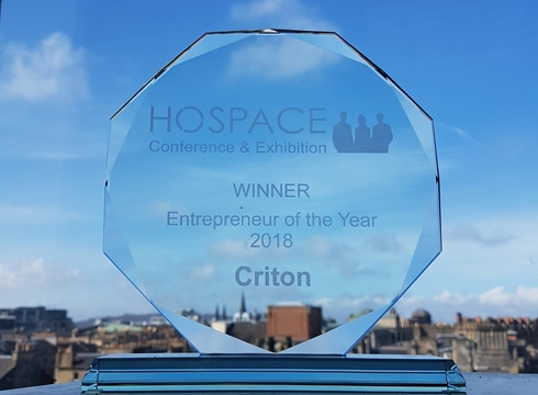 Hospace 2017 Entrepreneur Award
