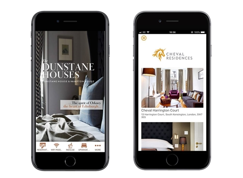 Dunstance House and Cheval Residences Hotel App by Criton