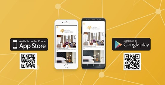 Cheval Residences mobile app