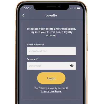 Mobile loyalty programme for hotels